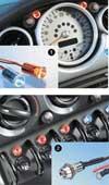 FOLIA TEC LED Control Light, blau mit ..