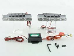 Tagfahrlicht LED mit Schaltrelais univ..