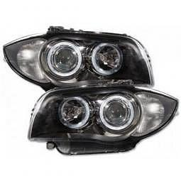 Scheinwerfer Angel Eyes Set fr BMW 1e..