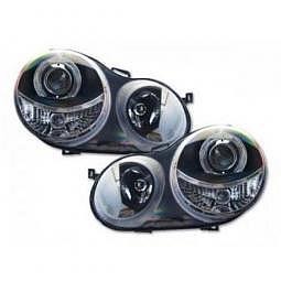 Scheinwerfer Angel Eyes Set fr VW Pol..