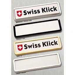 Swiss Klick Hochformat Mattchrom