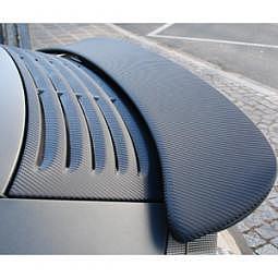 FOLIATEC ULTRA Carbon Folie mit Struktur schwarz-strukturiert, 122x200 cm