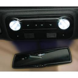FOLIATEC SMD-LED CockpitLight - ultraweiss, 1 SMD, BA9S, 140mA, 2 St?ck