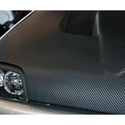 FOLIATEC CARBODY Designfolie Ultra Carbon - chrom-strukturiert, 122x150 cm