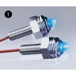 FOLIATEC LED Lite Screws - orbit-blau, Schl?sselw. 12 mm, 2 St?ck, (Abb. 2)