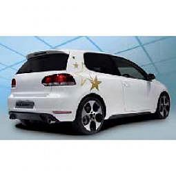 FOLIATEC Cardesign Sticker - STARS - gold, B 63 cm x H 39 cm