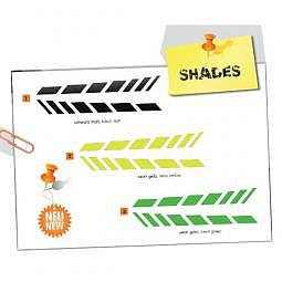 FOLIATEC Cardesign Sticker - SHADES - neon gelb, 9 x 77 cm