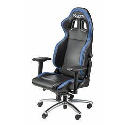SPARCO Bürostuhl R100S inkl. Konsole Kunstleder schwarz/blau