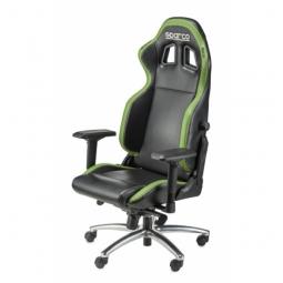 SPARCO Bürostuhl R100S inkl. Konsole Kunstleder schwarz/grün