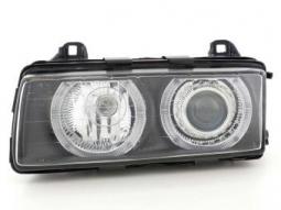 Scheinwerfer Angel Eyes Set BMW 3er E36, schwarz