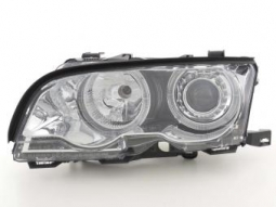 Scheinwerfer Angel Eyes Set BMW 3er E46 Coupe/Cabrio, chrom