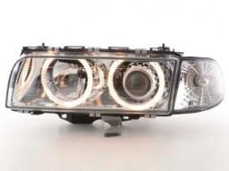 Scheinwerfer Angel Eyes Set BMW 7er Typ E38 Bj. 95-98 chrom