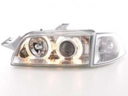 Scheinwerfer Angel Eyes Set Fiat Punto 1 Typ 176 Bj. 93-98 chrom
