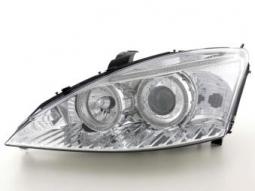 Scheinwerfer Angel Eyes Set Ford Focus 1, chrom