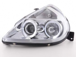 Scheinwerfer Angel Eyes Set Ford KA Typ RBT Bj. 96-08 chrom