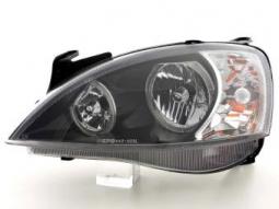 Scheinwerfer Angel Eyes Set Opel Corsa C, schwarz