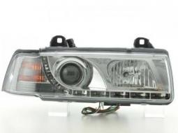 Scheinwerfer Daylight Set Tagfahrlicht BMW 3er E36 Limousine chrom