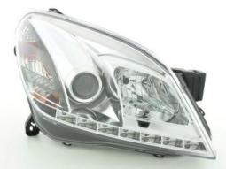 Scheinwerfer Daylight Set Opel Astra Typ H chrom