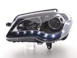 Scheinwerfer Daylight Set VW Touran Typ 1T Bj. 06-10 schwarz