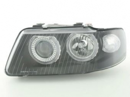 Scheinwerfer Angel Eyes Set fr Audi A3 Typ 8L Bj. 01-03 schwarz