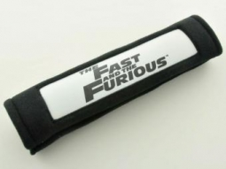 Gurtpolster beleuchtet The Fast and the Furious schwarz Gurtschoner