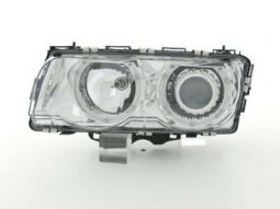 Scheinwerfer Angel Eyes Set BMW 7er Typ E38 Bj. 99-02 chrom