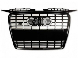 Sportgrill Frontgrill Grill Audi A3 Typ 8P Bj. 05-08 schwarz