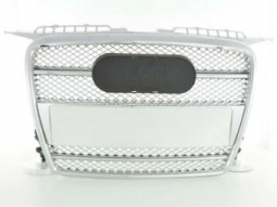 Sportgrill Frontgrill Grill Audi A3 Typ 8P Bj. 05-08 chrom m. Logohalter