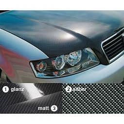MotorhaubenFolie Carbon-Anthrazit Variante 1