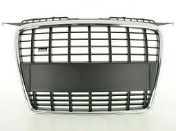 Sportgrill Frontgrill Grill Audi A3 Typ 8P Bj. 05-08 schwarz/chrom