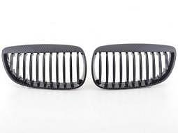 Sportgrill Frontgrill Grill BMW 3er Coupe Typ E92 Bj. 05-09 Carbon Look